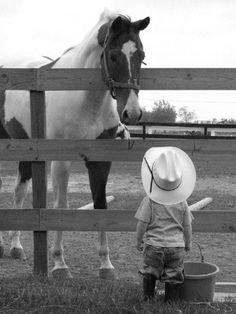 #HORSE##KIDS##CUT##ANIMALS# #BEST FRİENDS#