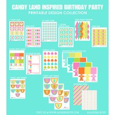 Candy Land Inspired