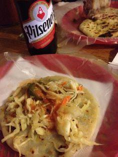 How to make pupusas the traditional Salvadoran way. Pupusas are the national dish of El Salvador.