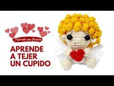 Como tejer un cupido a crochet - Pecosa - YouTube Crochet Hats, Minis, Angel, Youtube, How To Knit, Amigurumi, Tejidos, Key Fobs, Souvenir