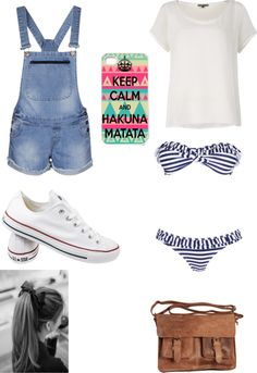 """water park outfit"" by shamerebillups ❤ liked on Polyvore"