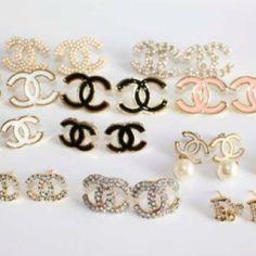 Fake fake fake Chanel earrings