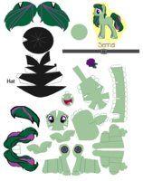 My little pony papercraft