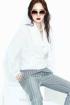 "Harper's Bazaar Vivienne Westwood SS'15 ""Keep your eyes on me""  (Cr: Imagazine) #Songjihyo #송지효"