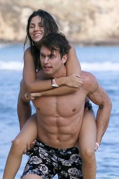 54ac1cddf1 Pin for Later  Victoria Justice Bares Her Bikini Body and Shows Beach PDA  With Her