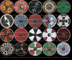 Shield patterns for Saxon / Vikings?