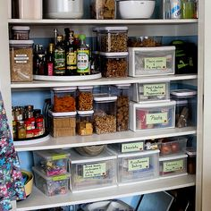 Is it time to organize your pantry? Here are plenty of great tips and links to helpful products to make your pantry beautiful and functional.