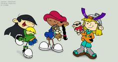 kids next door. I remember this show!