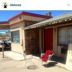 En California donde Oppa esta haciendo la seccion de fotos para Elle Korea