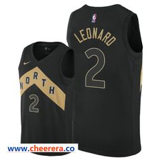 6034b1360 Men s NBA 2018-19 Kawhi Leonard Raptors  2 City Edition Swingman Jersey -  Black