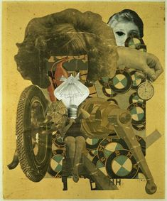 The Beautiful Girl, Hannah Höch. Hannah Höch, a German Dada artist best known for her work of the Weimar period, born in Read more about her life on Today in Women's History. Tristan Tzara, Dada Collage, Collage Artists, Collages, Photomontage, Hannah Hoch Collage, John Heartfield, Hannah Höch, Raoul Hausmann