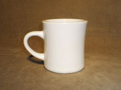 Original Vintage 1940's Diner Coffee Mug by AntiqueApartment, $12.00