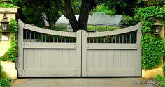 sliding driveway gates - Google Search