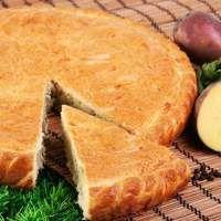 Пирог с картошкой и фаршем