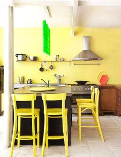 Cuisine jaune : inspirations pour une cuisine lumineuse