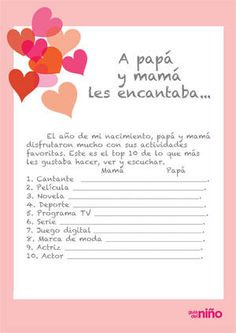 A mis papás les encantaba Pregnancy Scrapbook, Baby Showers, Baby Diary, Unisex Baby Shower, Baby Information, Baby Journal, Baby Memories, Baby Album, First Pregnancy