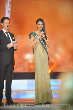 Miss Earth 2015 was held on 5 December 2015 at Marx Halle in Vienna, Austria. It was the first time the pageant was held in Europe and outside of Asia. It was also the first back to back victories in Miss Earth history: Angelia Ong of the Philippines crowned by Jamie Herrell of the Philippines. Australia's Dayanna Grageda was Miss Earth-Air 2015; Brittany Payne of USA was Miss Earth-Water 2015, and and Thiessa Sickert of Brazil was Miss Earth-Fire 2015.