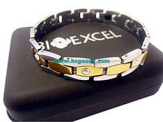 Quantum & Tungsten Bracelets - Tungsten Bracelet - Gold Lock Design with CZ Diamond