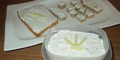 ALMETTE DE CASĂ – CREMĂ DE BRÂNZĂ Baby Food Recipes, Feta, Good Food, Dairy, Food And Drink, Cheese, Cooking, Fat, Recipes For Baby Food