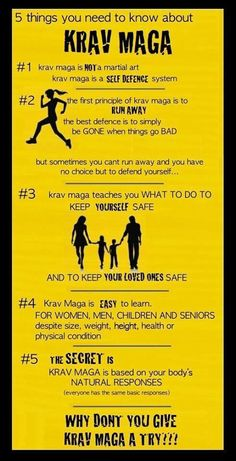 5 things about krav maga , for more information visit www.NoFear-Academy.com