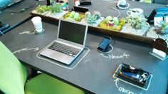 The Android-Themed, Chalkboard Workspace at Google HQ