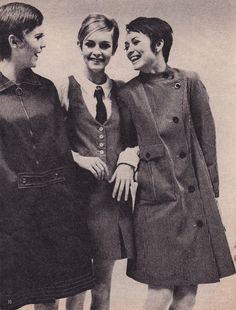 mary quant & twiggy (models who rocked your hairstyle)
