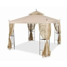 Planning a DIY project with this one. 10 ft. x 10 ft. Arrow Gazebo-61821-C at The Home Depot