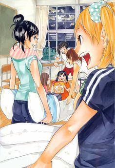 Read manga Haikyuu!! Ch.086: Moonrise online in high quality