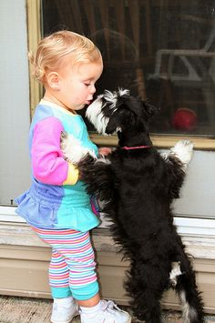 Puppy Dog Kisses by Nancy Harris, via Flickr