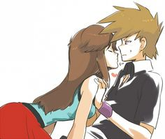 Romance - Pokemon Oneshots ! Dratini OldRivalShipping GreenxBlue - Wattpad