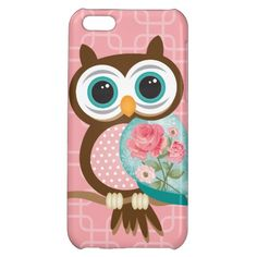 Vintage Owl Cell Phone Case