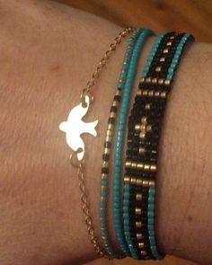 #ring #rings #miyuki #elişi #handmade #handmadeaccessories #jewelry #kadin #moda #faschion #instamoda #instajewelry #instagramhub #instadaily #instalike #jewellerydesign #modafeminina #anelli #bead #beadlover #beadweaving #perlesmiyuki #bracelet #blue #turquoisesea #kırlangıç #bird #rondine