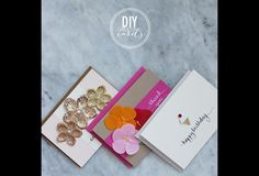 Find full instructions for these pretty DIY greeting cards on HGTV.ca