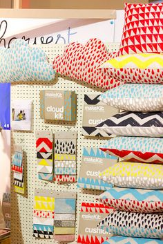 custom printed fabrics - very, very cool