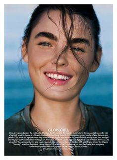 visual optimism; fashion editorials, shows, campaigns & more!: super trooper: bambi northwood-blyth by enrique badulescu for uk marie claire september 2014