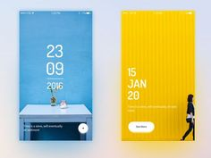A word a day by Jack Mobile Web Design, App Ui Design, Layout Design, Flat Design, Design Design, Interface Web, User Interface Design, Banner Instagram, Mobile App Ui