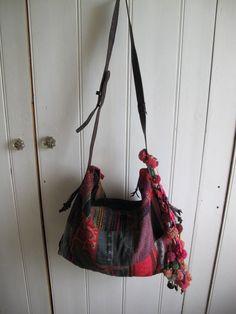 Patchwork gypsy bag by shopgypsyriver on Etsy, $100.00
