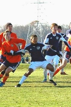 Team America 96 (TAFC96) competing in 2014 Bethesda College Showcase (Generation Adidas Bethesda Tournament) - November 21-23, 2014 - Liam Walsh, Kyle Petitt, Anthony Nauls