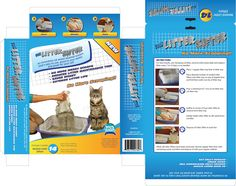 "Packaging Design by Kings Bishop Design for ""The Litter Sifter"" Packaging Design Project - Design #798607"