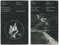 Spektrum bog serier, designed af Lothar Reher