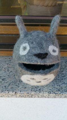Totoro selbst gefilzt