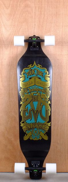 The 4 Time World Series Campion speaks for itself. Go fast. Go skate.