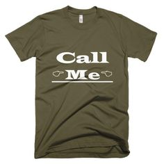 Call Me Short Sleeve Tee - Hello Chic Boutique