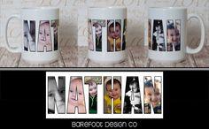 Custom Personalized Photo Mug with Name