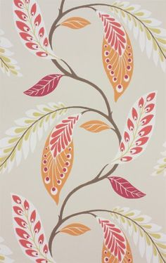 Fontibre (W) by Nina Campbell Wallpapers | Store — FABRIC STUDIO STORE