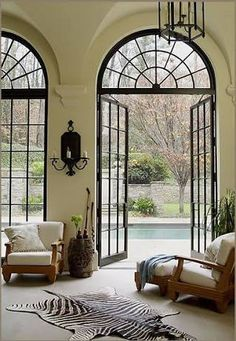 Image result for large arch window in tv show