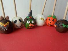 Halloween apples  Bombones SILU