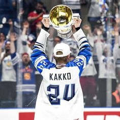 🎉 Thanks to all who supported us in last two weeks. This win is for you - the best fans on the world! I'm so proud that I'm the first man who has african passport and win IIHF world championship! Hockey Baby, Hockey Girls, Ice Hockey, Hockey Stanley Cup, Tyler Seguin, Pittsburgh Penguins Hockey, Patrick Kane, Los Angeles Kings, Philadelphia Flyers