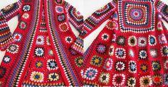 Aprende a tejer tu abrigo vintage con ganchillo