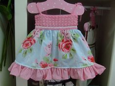 Baby Dress em crochet